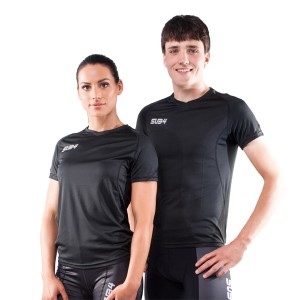 Sub4 Action Unisex Running T-Shirt - Black