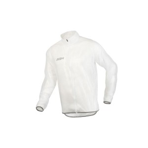 SUB4 Womens Waterproof Cycling Jacket - White