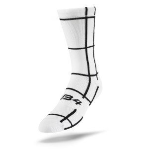 Sub4 Grid Unisex 3/4 Running Socks