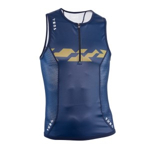 Sub4 Aero Endurance Mens Triathlon Singlet - Navy