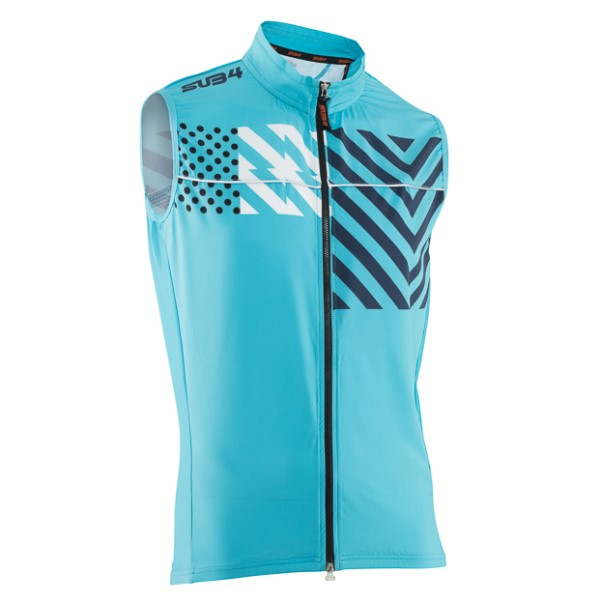 SUB4 Joker Mens Cycling Gilet - Teal