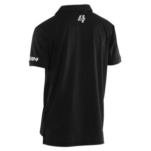 Sub4 Mens Training Polo Shirt - Black