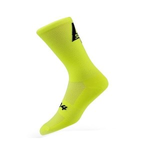 Sub4 Womens Cycling Socks - Fluoro Yellow
