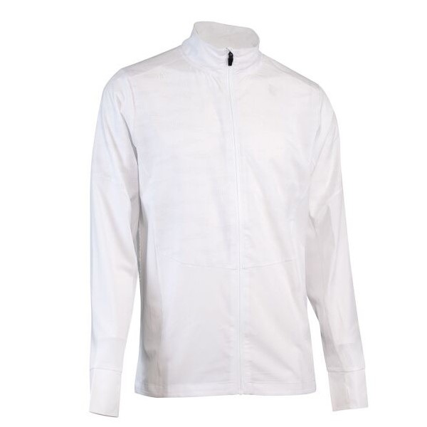 SUB4 Reflective Breathable X Mens Running/Cycling Shell Jacket - White