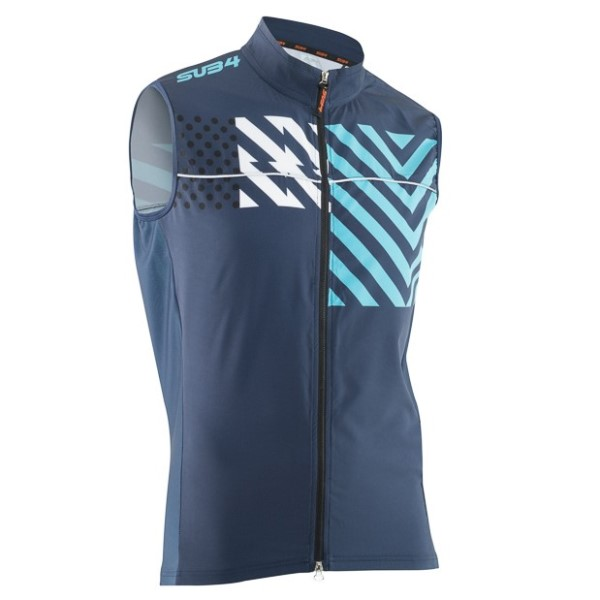 SUB4 Joker Womens Cycling Gilet - Navy