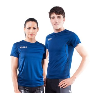 Sub4 Action Unisex Running T-Shirt - Blue
