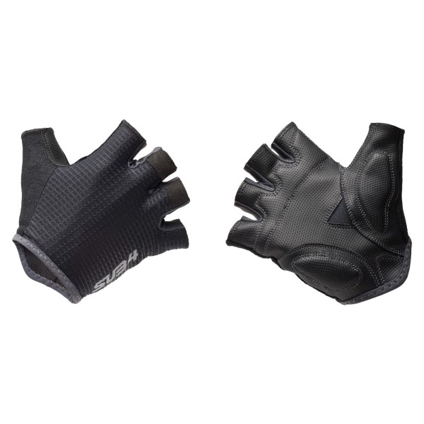 SUB4 Fingerless Cycling Gloves - Black